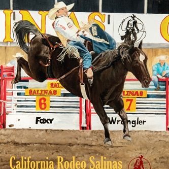 CALIFORNIA RODEO DEBUTS 2016 COMMEMORATIVE POSTER