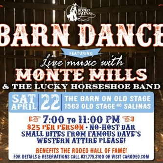 CALIFORNIA RODEO SALINAS' BARN DANCE IS BACK