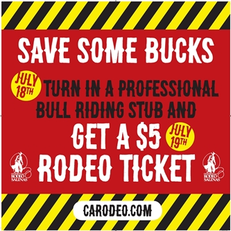 SO MANY WAYS TO SAVE MONEY ON CALIFORNIA RODEO TICKETS