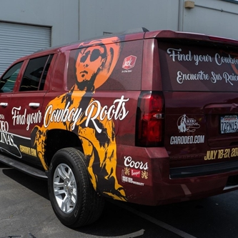OFFICIAL CALIFORNIA RODEO VEHICLE SPORTS 'FIND YOUR COWBOY ROOTS' AD CAMPAIGN