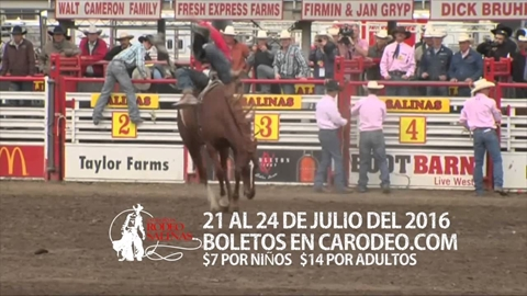 2016 California Rodeo Salinas TV Commercial (Spanish)