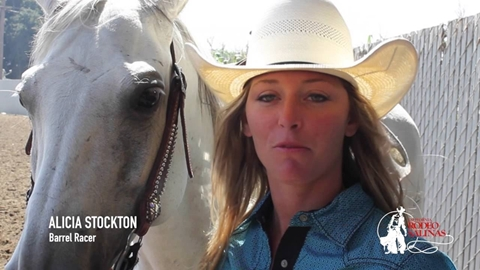 Rodeo Horses-California Rodeo Salinas Livestock Program Video #2-2016