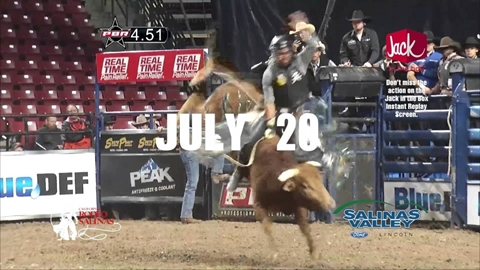 2016 Professional Bull Riding Blue Def Tour Event in Salinas-TV Commercial (English)