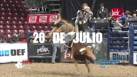 2016 Professional Bull Riding Blue Def Tour Salinas-TV Commercial in Spanish