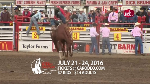 2016 California Rodeo Salinas TV Commercial (English)