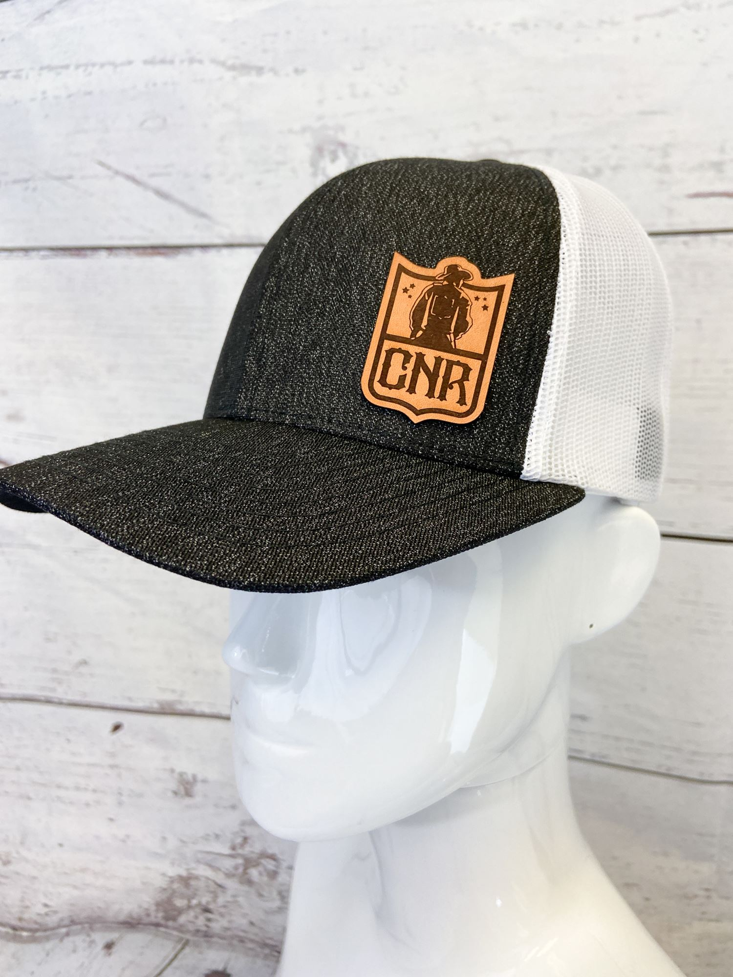 Black Shield Hat
