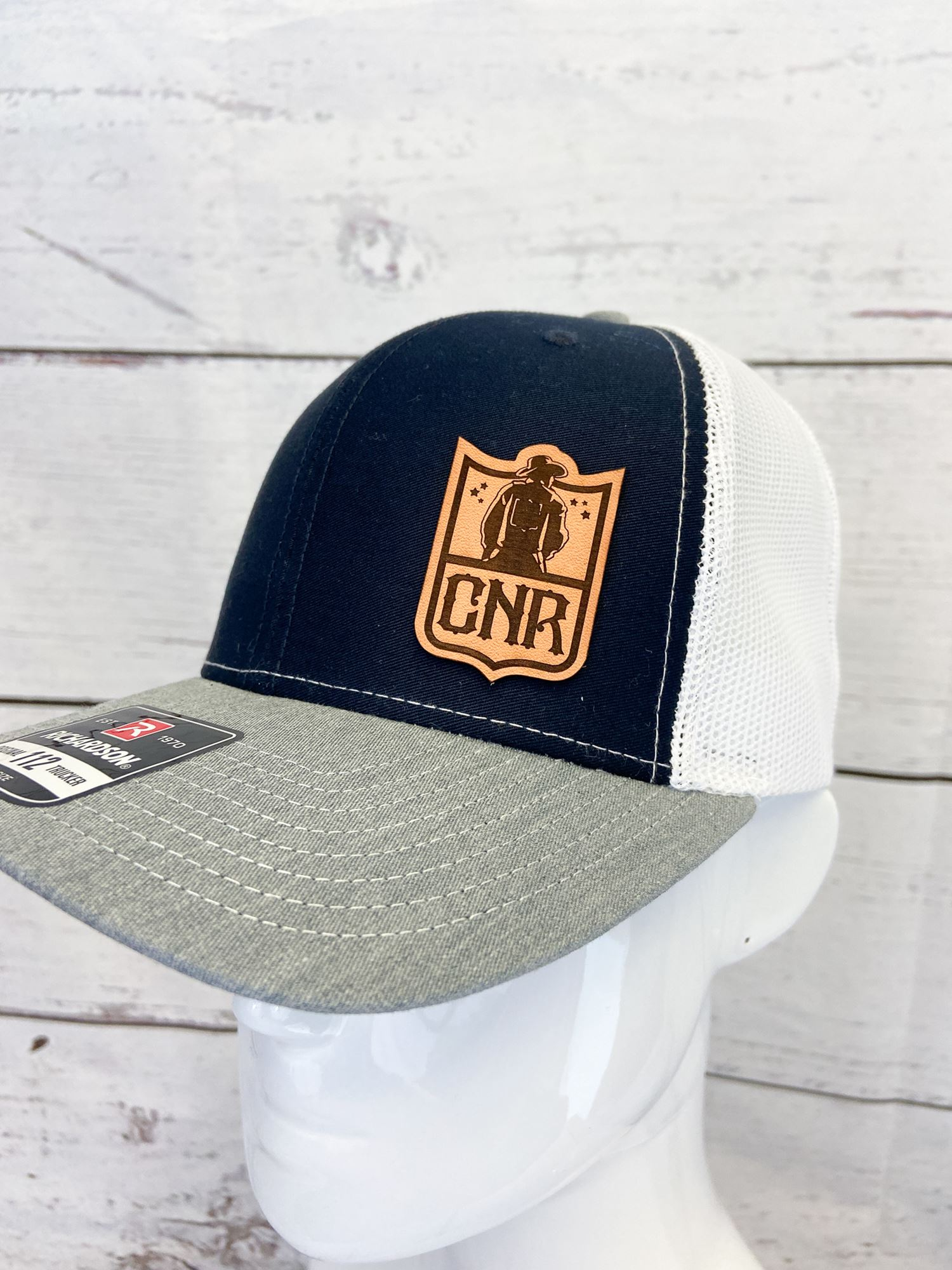 Navy Shield Hat