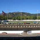 Grandstands & Track (Racing)