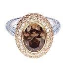 Scout Mandolin, diamond jewelry design