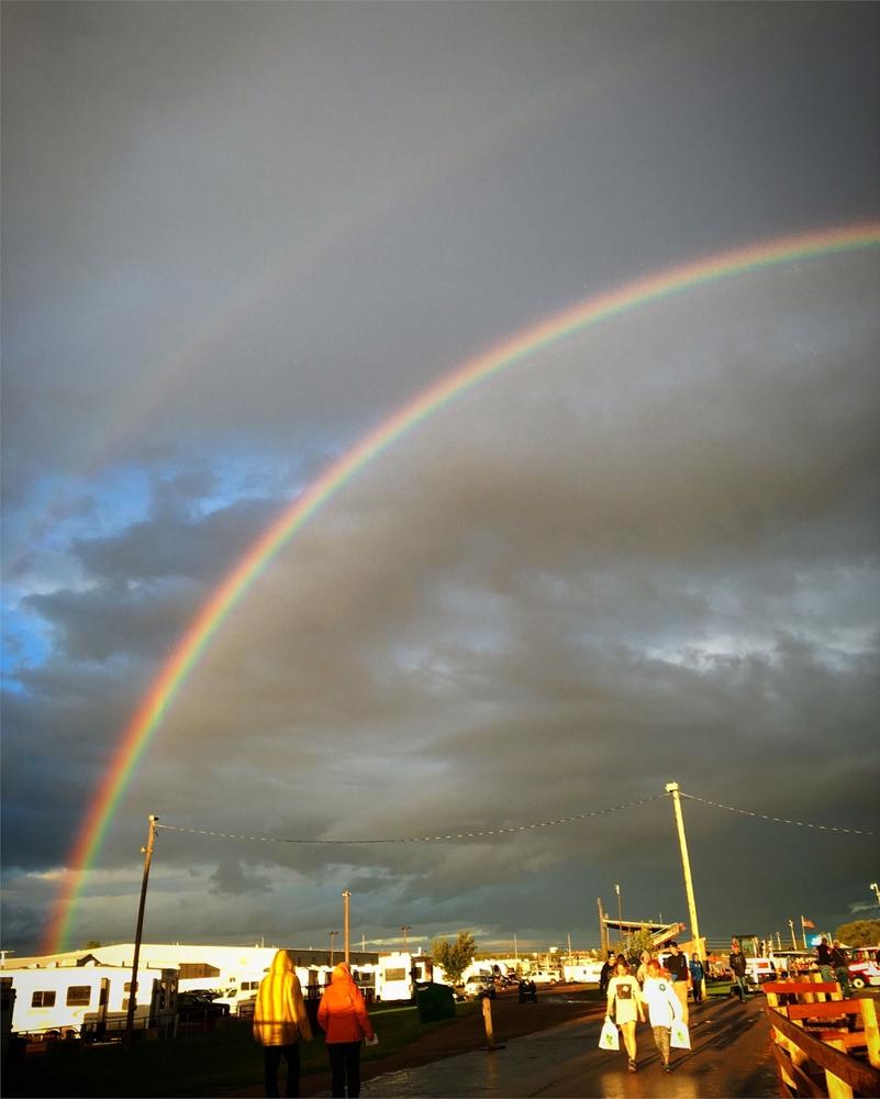 Rainbow at the fair