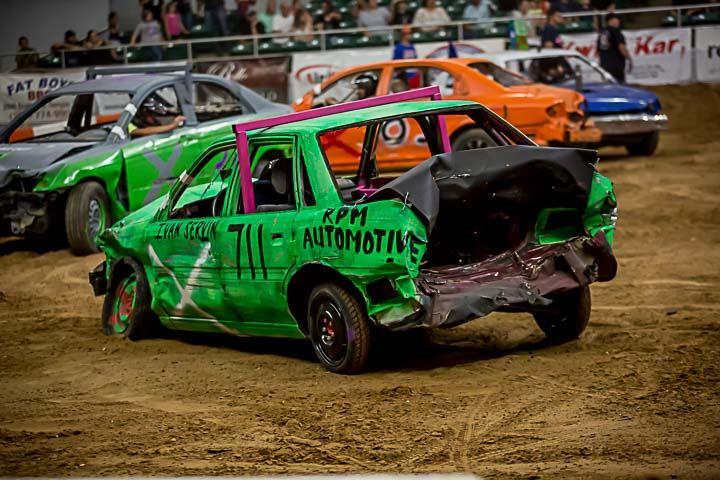 Twisted Metal Mayhem Demolition Derby