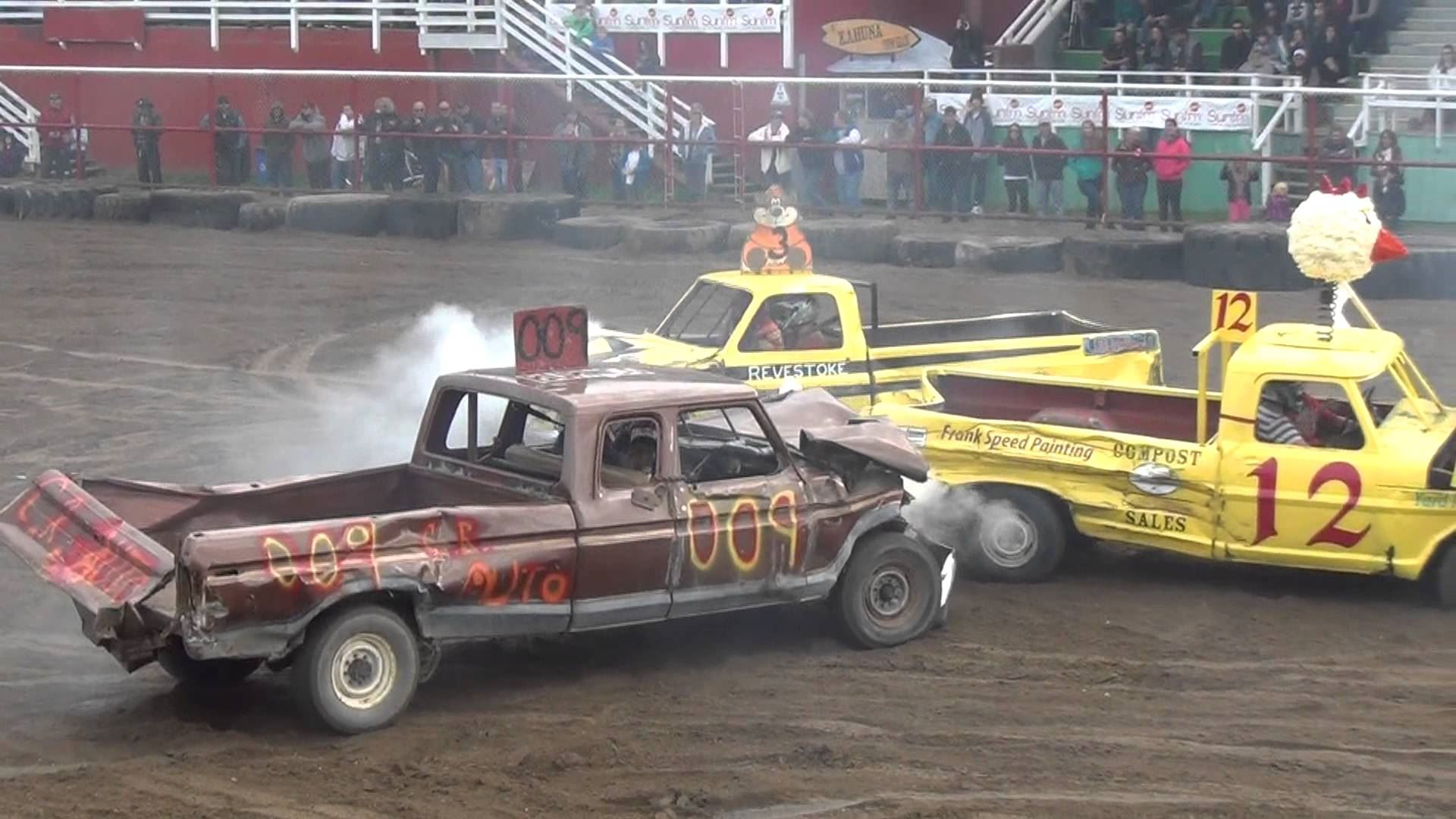 Pickup Truck Demolition Derby