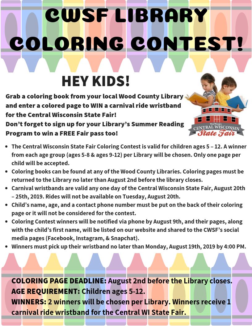 CWSF Library Coloring Contest