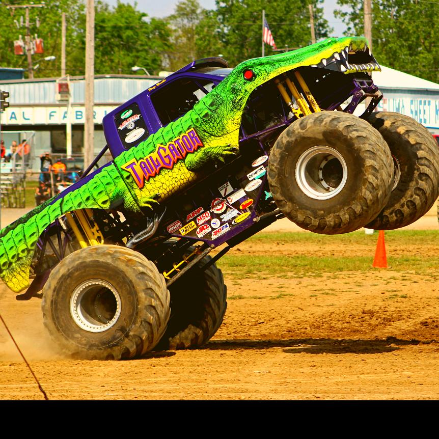 All Star Monster Trucks sponsored by Shaw's Wrecking Yard LLC