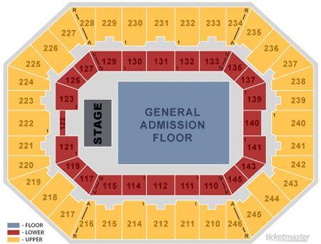 diagram of seating at theater wv grandview coliseum #5