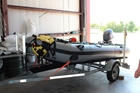 Rescue Boat 81: 2011 Zodiac Swiftwater Boat with 40 hp Yamaha Motor