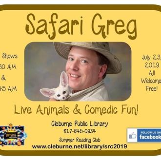 Safari Greg: Live Animals