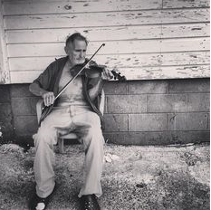 Old-timey fiddle image