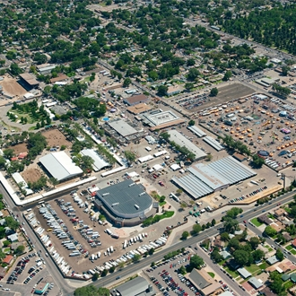 The Colorado State Fairgrounds Boasts Nearly 100 Acres With 60 Permanent Structures And Multiple Full Hookup RV Vendor Sites All Enclosed Within Our