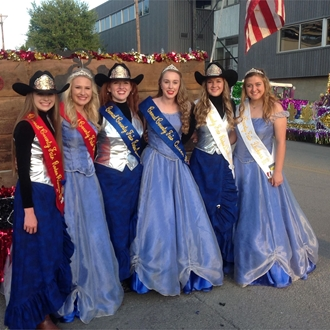 2016 Fair & Rodeo Court Involvement