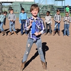 Mutton Bustin' 9-10 Year Olds