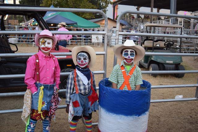 Kids Rodeo Clown Contest