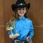 1st Place Girl 5-7 Years Old