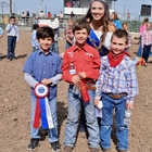 Mutton Bustin Winner 7-8 Year Old Division