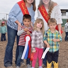 Mutton Bustin Winners 3-4 Year Old Division