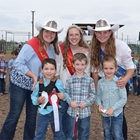 Mutton Bustin Winner 5-6 Year Old Division