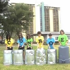 Conroe, Texas Trash Can Drummers