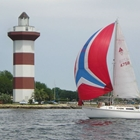 Sailing on Lake Conroe