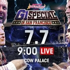 NEW JAPAN PRO-WRESTLING Announces The Full Match Card For Their G1 Special In San Francisco