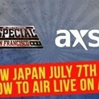 AXS TV To Broadcast NJPW On July 7 From Cow Palace; Jim Ross And Josh Barnett On Commentary