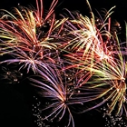 HAMILTON'S PUBLIC FIREWORKS DISPLAY AT THE COUNTY FAIRGROUNDS