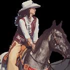 Woodside woman crowned rodeo queen
