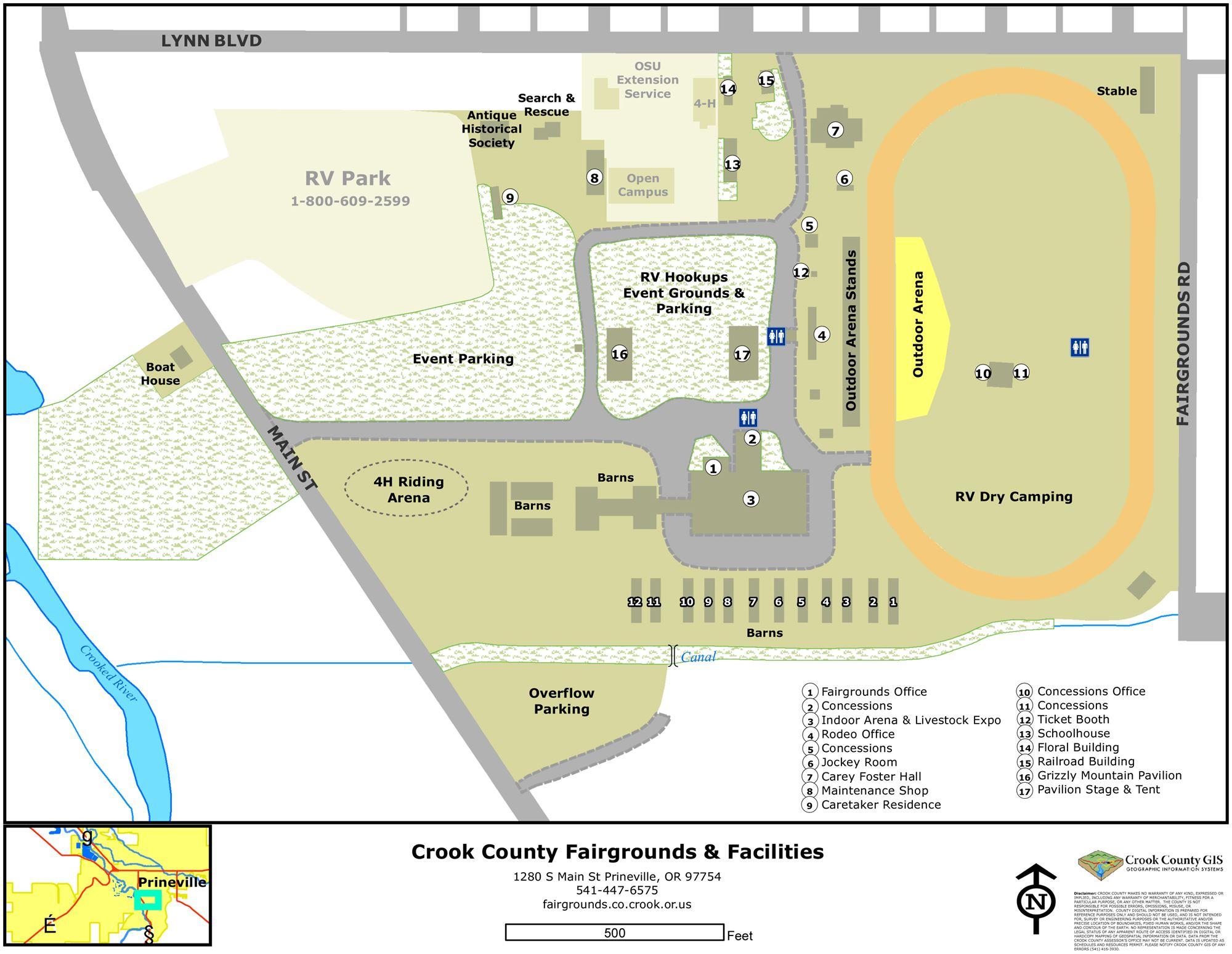 Prineville Oregon City Information Epodunk
