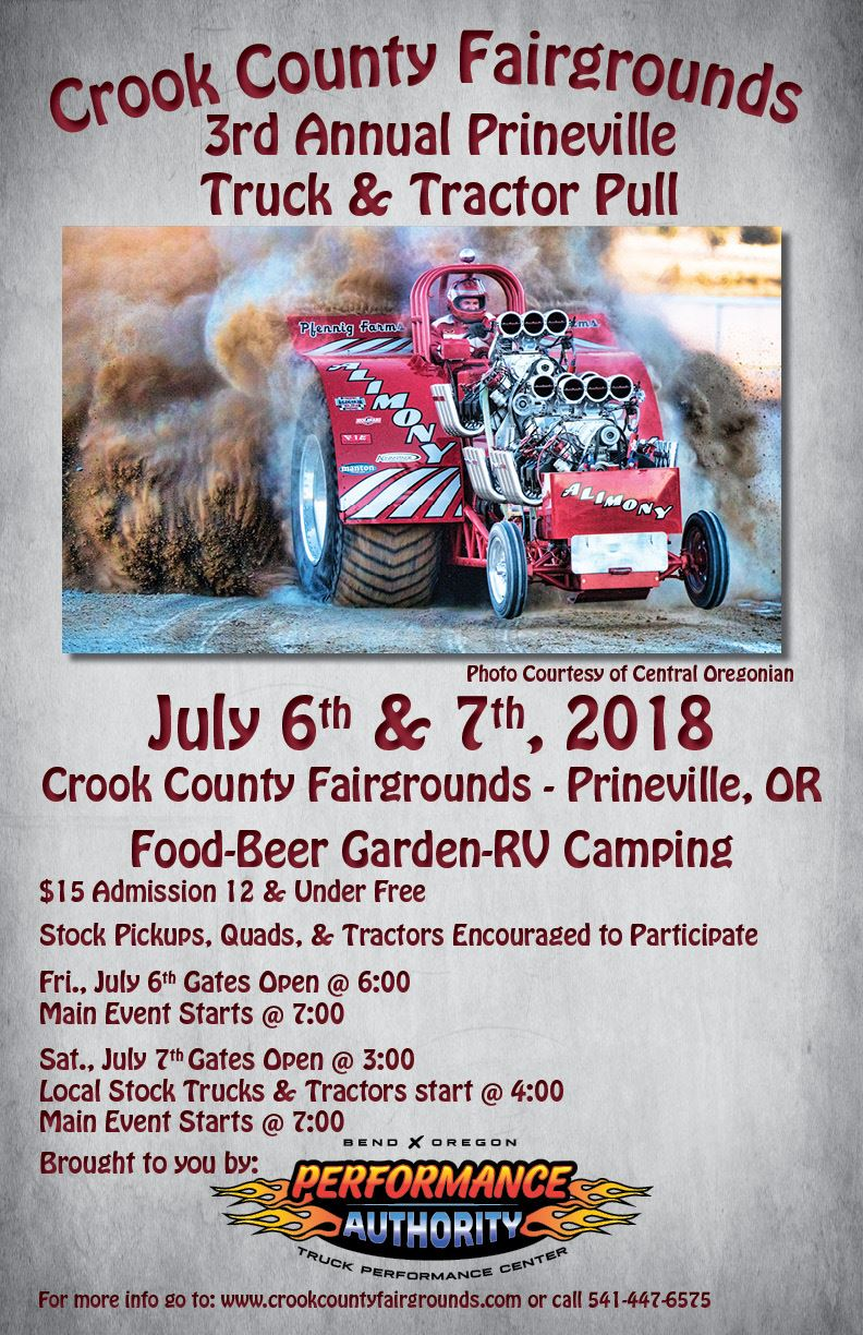 Prineville Truck & Tractor Pull