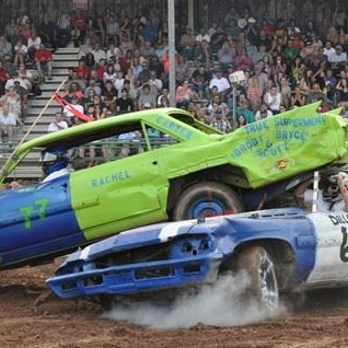 33a9e26f8 Viking Speedway Automobile Demolition Derby!
