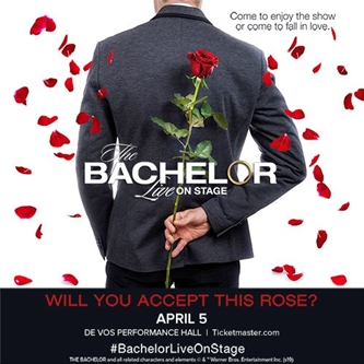 The Bachelor Live Hometown Visit to DeVos Performance Hall