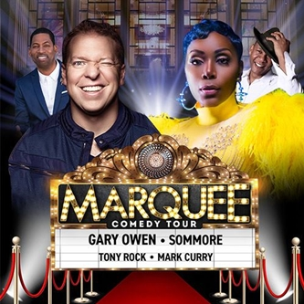 "Comedians Gary Owen, Sommore, Tony Rock & Mark Curry Bring ""Marquee Comedy Tour"" to Grand Rapids"