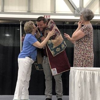 SMG Chief Engineer Honored at QuiltWeek