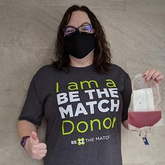 ASM Global Grand Rapids Sales Manager Donates Stem Cells