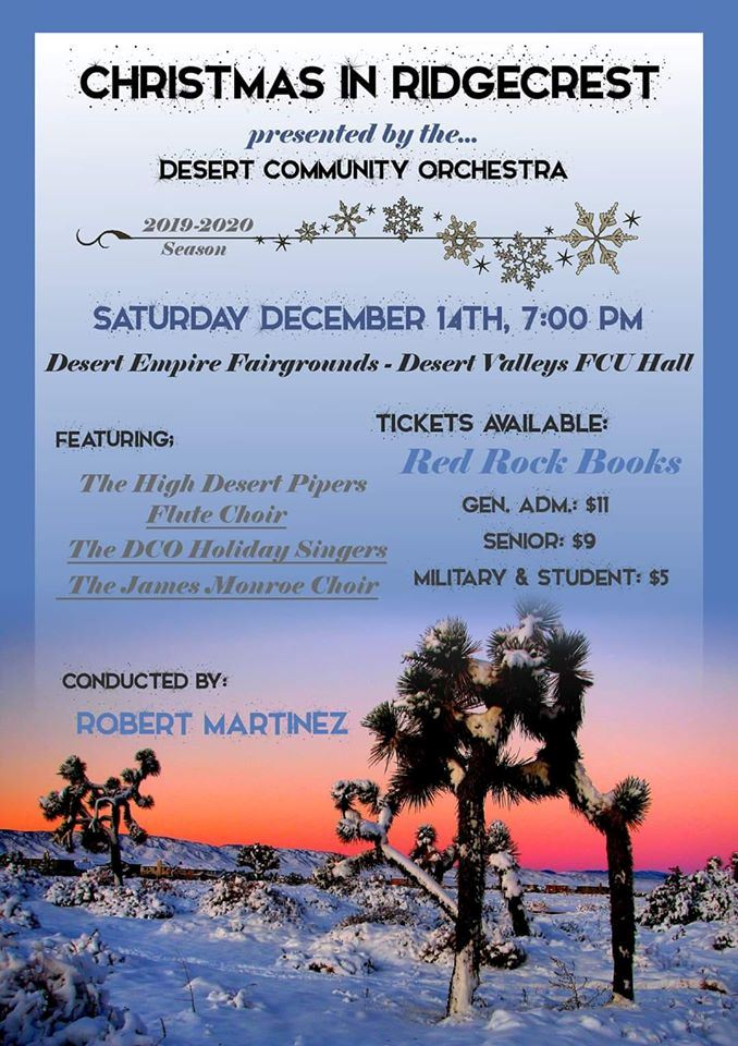 Dec. 14: DCOA Holiday Concert