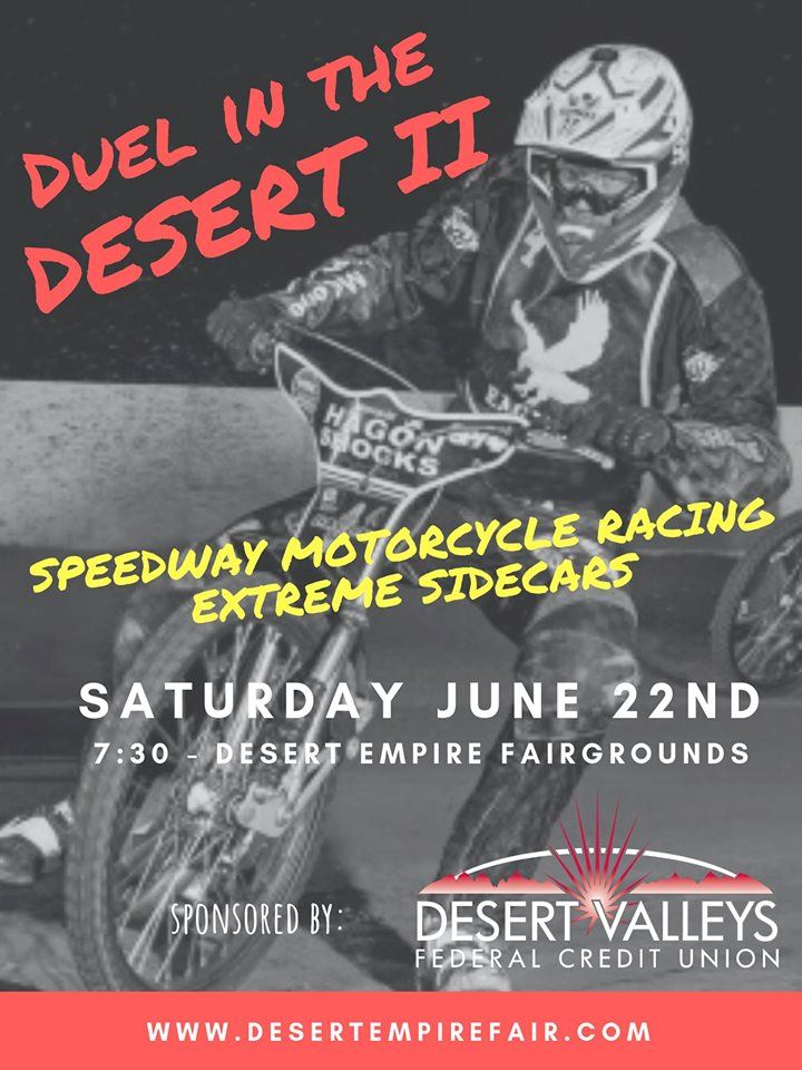 June 22nd: Duel in the Desert 2019
