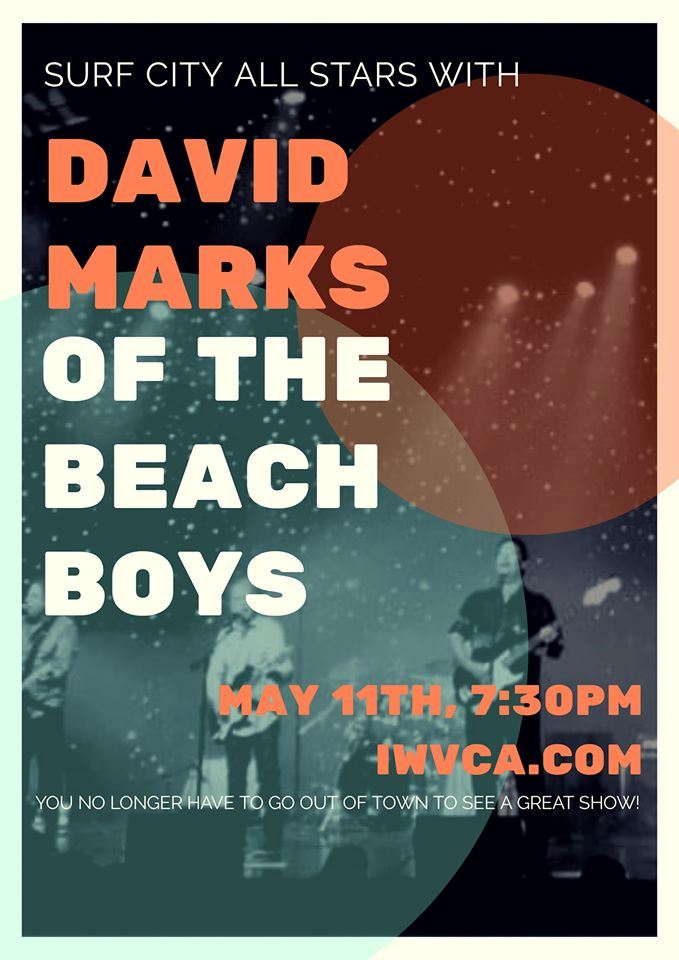 May 11th: Beach Boys Tribute: Surf City All Stars