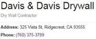 Davis & Davis Drywall