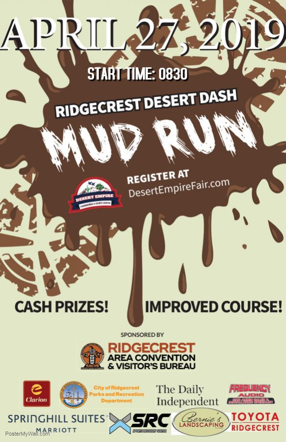 April 27th: Mud Dash