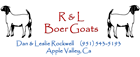 R &  L Boer Goats