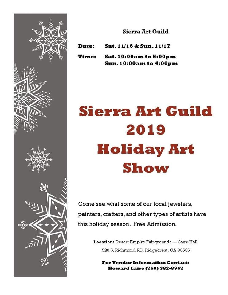 Nov. 16 & 17: Sierra Art Guild